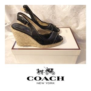 COACH Kara Wedges — Size 6